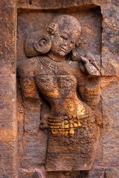 Sandstone carving at Konark Sun Temple in Orissa, India. Picture by Marji Lang.