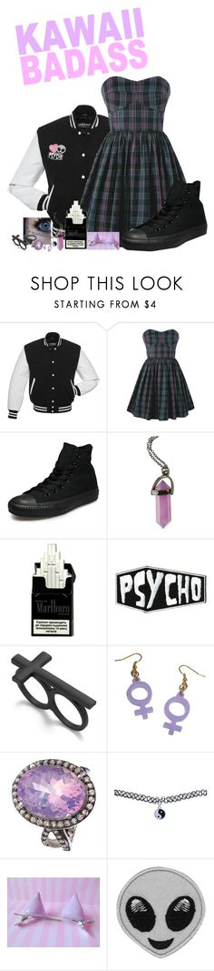 """~people suck, let's be cats instead~"" by liesybug ❤ liked on Polyvore featuring Jack Wills, Converse, Hot Topic, Material Girl, Wet Seal and Auslander"