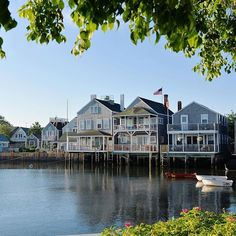 In Nantucket for the long weekend.