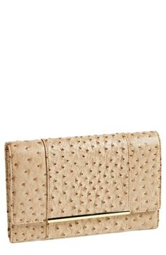 Ivanka Trump Ostrich Embossed Travel Case Organizer available at #Nordstrom