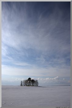 Frozen Lake, Joensuu, Finland Copyright: Pentti Rautio