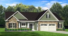 I like gathering layout and foyer area-ePlans Ranch House Plan – Roomy Ranch – 1598 Square Feet and 3 Bedrooms from ePlans – House Plan Code Rambler House Plans, Ranch House Plans, Craftsman House Plans, New House Plans, Small House Plans, House Floor Plans, Craftsman Style, Craftsman Ranch, Br House