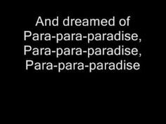 """Coldplay - Paradise- This song represents Daisy because.. """"When she was just a girl she expected the world But it flew away from her reach So she ran away in her sleep and dreamed of Para-para-paradise, para-para-paradise, para-para-paradise Every time she closed her eyes"""""""
