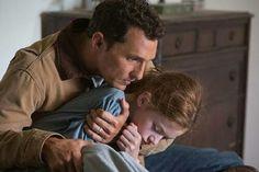 Matthew McConaughey, Mackenzie Foy, Interstellar, a movie by Christopher Nolan (2014)