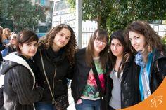 """Gli studenti dell'istituto alberghiero """"Moccia"""" di Nardò (Le)."""