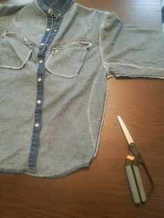 So Much To Make: How To Alter a Man's Shirt to a Woman's Shape