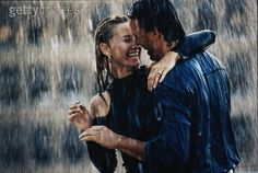 Love drenched rain shots...I'm gonna do this for my engagement pictures! (when it happens haha)