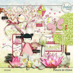 Chunlin designs: NEW! Fleurs de Chine