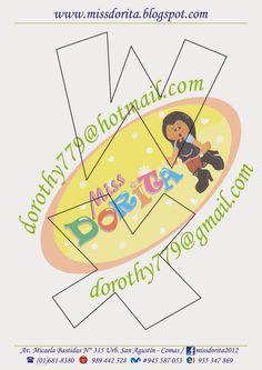 Miss Dorita: Abecedario Grande 1