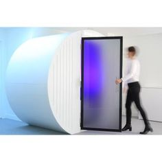 Take a look at the Procyon Dream Box - this truly unique pod provides employees with the option of resting or sleeping to reduce stress at work. It's acoustically insulated and equipped with a ventilation system… Work Stress, Stress And Anxiety, Sleeping Pods, Ventilation System, Commercial Furniture, Modern Times, Flexibility, Relax, Space