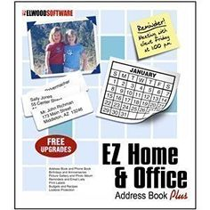 EZ Home and Office Address Book