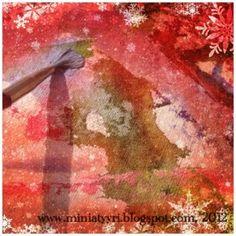 Lumihiutalemaalaus - Snowflakepainting   Miniatyyria