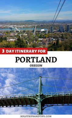 Get the best in PDX! Portland Oregon 3 day itinerary with cool things to do each day, also includes the best day trips from Portland OR. Plan a weekend getaway in the PNW with this guide Portland for an amazing vacation. Explore hike and bike trails, downtown, bookstores, great restaurants and food trucks in Portland. Click to read the itinerary for 3 great days in Portland Oregon. Portland Oregon Things to Do | Portland Oregon Itinerary | Portland Oregon Vacatoin | Portland Oregon… Oregon Travel, Usa Travel, Solo Travel, Beautiful Places To Travel, Best Places To Travel, Cool Places To Visit, Road Trip Essentials, Road Trip Hacks, Travel Ideas