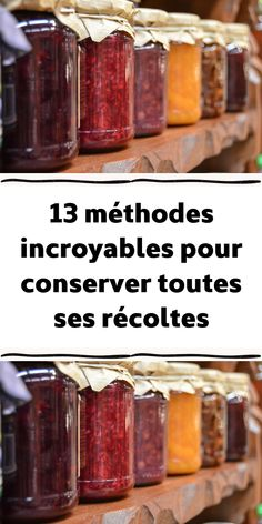 13 incredible methods to preserve all your crops Plat Vegan, Cooking Recipes, Healthy Recipes, Permaculture, Fabulous Foods, Preserves, Chutney, Tiger Cubs, Tiger Tiger