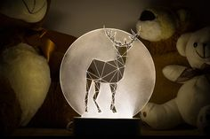 Sturlesi Design creates modern lamps that are simultaneously practical home decor and art objects. Their minimalist design reimagines animals as angular, geometric shapes, with LED lights hidden in...
