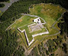 Castle Hill (a.k.a. Fort Royal) in Newfoundland