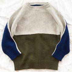 nico nico block sweater