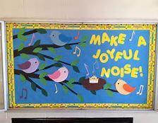 Birds and Spring Bulletin Board