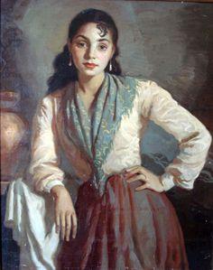La Gitanilla by Victor Moya Calvo (Spanish, 1889 - 1972)