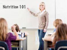 Nutrition 101 Teacher
