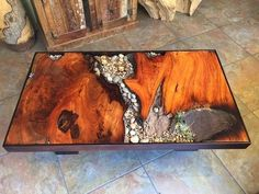 40 Amazing Resin Wood Table For Your Furniture. For several reasons, resin furniture has become a popular alternative to wooden furniture created for outdoor use. It looks similar to painted wood, but. Resin Furniture, Unique Furniture, Furniture Nyc, Cheap Furniture, Luxury Furniture, Wood Resin Table, Cool Tables, Wood Design, Tattoo Studio