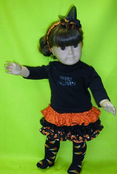 American Girl Halloween outfit by NanaJerrisCreations on Etsy, $18.00