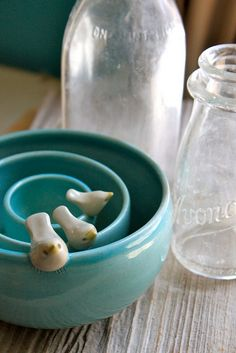 Bird Ceramic bowl