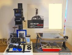 Labo photo agrandisseur durst chambre noire complète