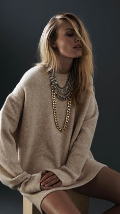 These Jenny Bird necklaces are such statement pieces!