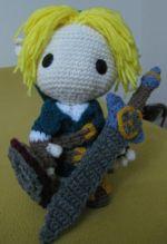 Link Sackboy Doll - Free Amigurumi Pattern here: http://goldenjellybean.com/youtube/about/link-sackboy/