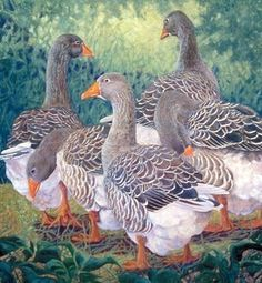 """It's a FUNtastic """"Gaggle of Geese""""!  by Jennifer Bellinger"""