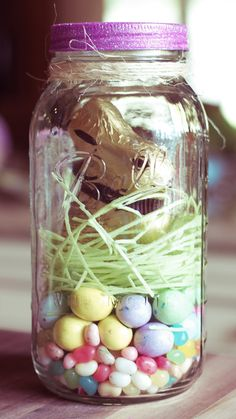 The Easter Jar | Lilyshop  I like this idea as we try to limit the amount of sugar that we give our kids