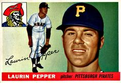 147 - Laurin Pepper RC  - Pittsburgh Pirates
