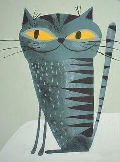 Kitty Krasner.  8.5x11 grabado por Matte Stephens. por matteart, $35.00