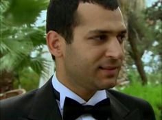 Demir on wedding day