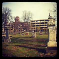 Mapping 10 of Detroit's Most Beautiful Historic Cemeteries