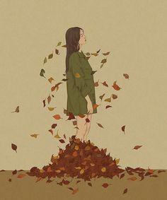 """""""No es la impermanencia lo que nos hace sufrir. Lo que nos hace sufrir es querer que las cosas sean permanentes cuando no lo son"""". #ThichNhatHanh Heo Jiseon"""