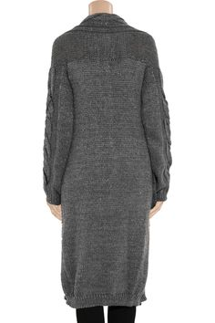 Oversized metallic knitted cardigan by Vivienne Westwood Anglomania