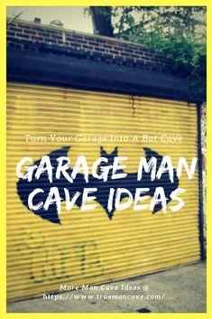 Garage Man Cave Ideas