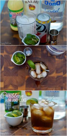 Carribean Rum and Coke at the Friday afternoon happy hour. www.leavingtherut.com