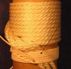 FREE tutorial: How to tie St. Mary's hitching by More Than Knots