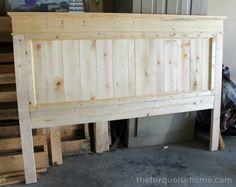 DIY Farmhouse Headboard {how to}