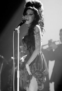 Amy Winehouse, incredible talent. Rest in Peace...