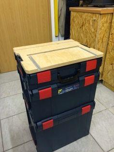 Mobiler Werktisch für die L-Boxx