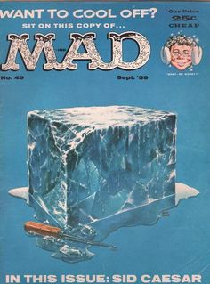 When the juvenile American satire magazine, MAD, first appeared in a comic-book format in August . Comic Book Covers, Comic Books, Mad Magazine, Magazine Covers, American Humor, American History, Mad World, You Mad, Satire
