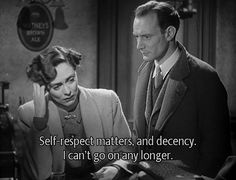 'Brief Encounter' with Celia Johnson and Trevor Howard. Directed by David Lean. Hollywood Actor, Classic Hollywood, Trevor Howard, David Lean, Brief Encounter, Beautiful Film, Play S, Interesting Quotes, Married Woman