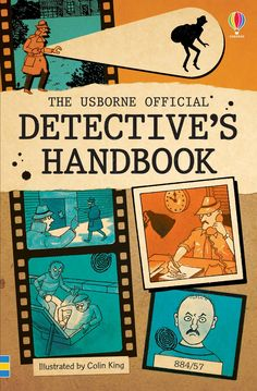 """Find out more about """"The official detective's handbook"""", write a review or buy online."""