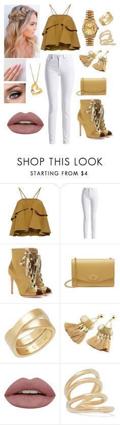 """As"" by lmselin1d on Polyvore featuring Schönheit, Rachel Comey, Barbour International, Gianvito Rossi, Mulberry, Cartier, Rolex, Jennifer Fisher und Roberto Coin"