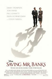 Saving Mr. Banks - great performances by Emma Thompsons, Tom Hanks and even Colin Farrell....but the many retrospects are too corny for my liking