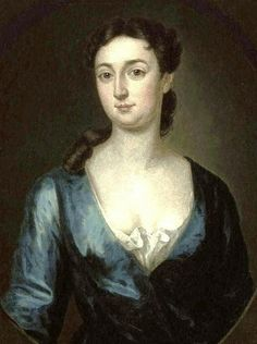 1732 John Smibert (American colonial era artist, 1688-1751). Hannah Gardiner (Mrs. James Mac Sparran.)
